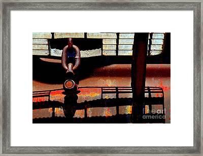 Chain Reaction Framed Print by Lauren Leigh Hunter Fine Art Photography