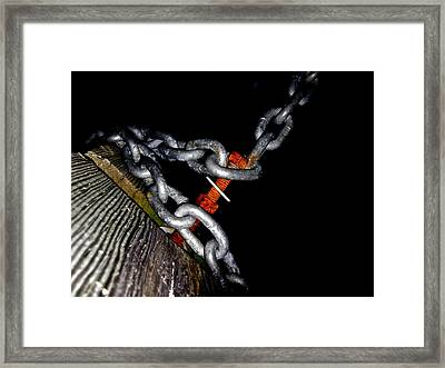 Chain Still Life Framed Print
