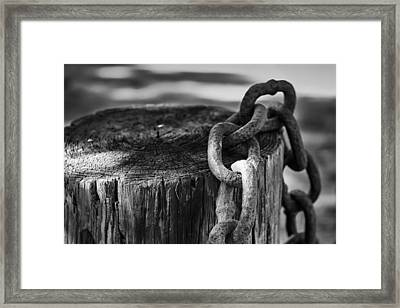 Chained... Framed Print by Eduard Moldoveanu