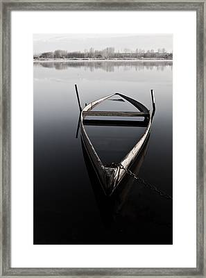 Chained In Time Framed Print