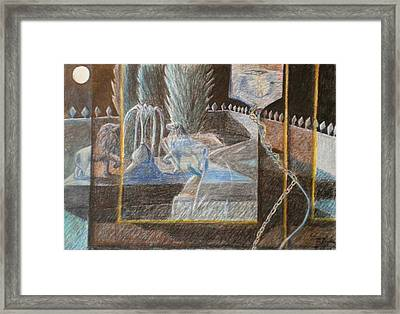 Chained To Life Framed Print