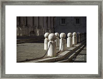 Chained Together Framed Print