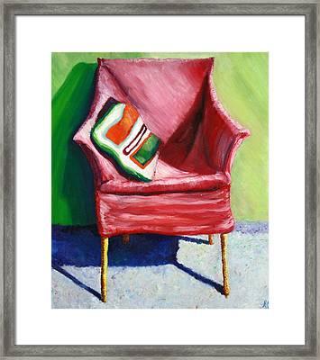 Chair Framed Print by Aletha Keogh