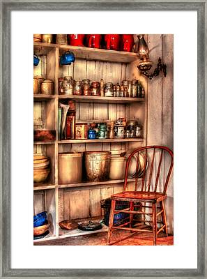 Chair - Chair In The Corner Framed Print