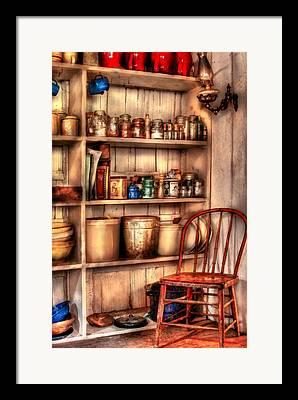 Corner Kitchen Framed Prints