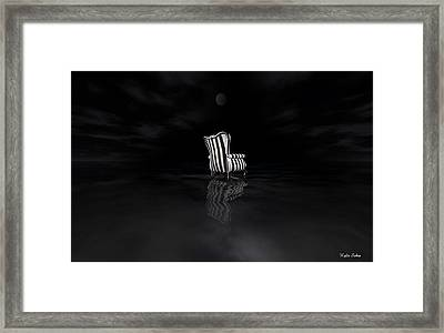 Chair Framed Print by Kylie Sabra