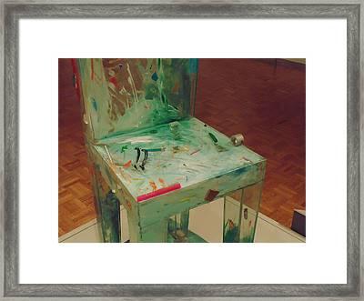Chair Of Art Framed Print