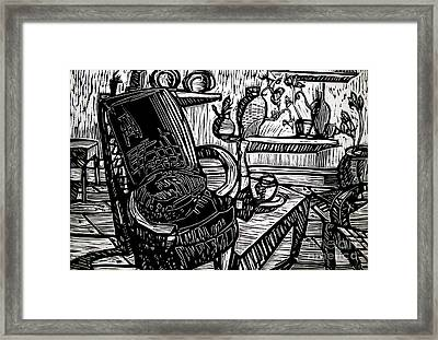 Chair Of My Dream Final Stage  Framed Print