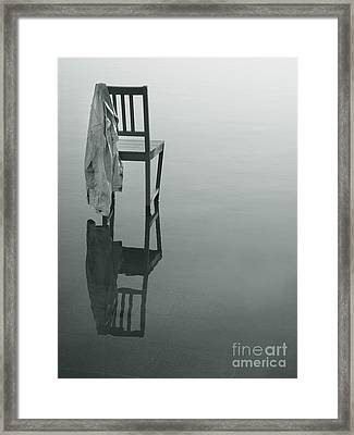 Chair Reflection Framed Print