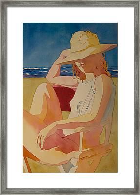 Chair Series V Framed Print
