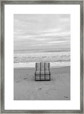 Chair Framed Print by Thomas Leon