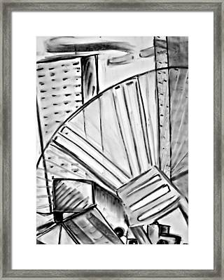 Chair..man Of The Industry Framed Print by John Grace