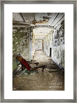 Chaise Framed Print by Margie Hurwich