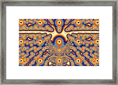 Chakra Framed Print by Betsy Jones