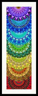 Aura Paintings Framed Prints