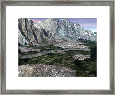 Chalet Framed Print