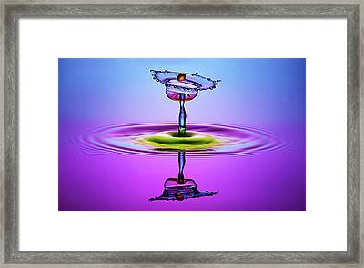 Chalice Colors Full Framed Print by Muhammad Berkati
