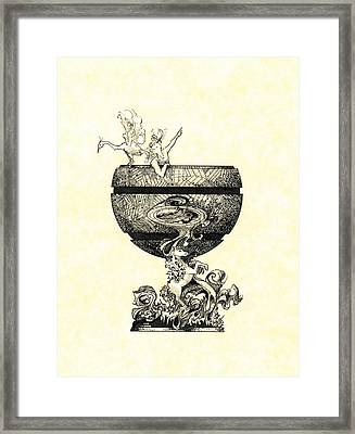 Chalice Framed Print by Julio Lopez