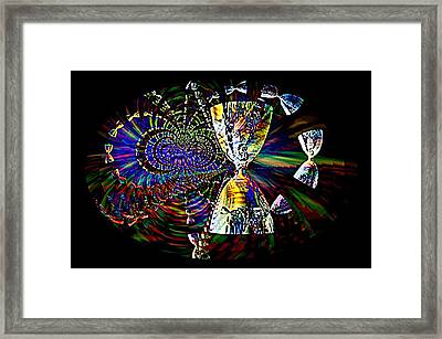 Chalice Of Obsession Framed Print