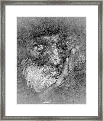 Challenge 12-3 Framed Print by Barbara MacPhail