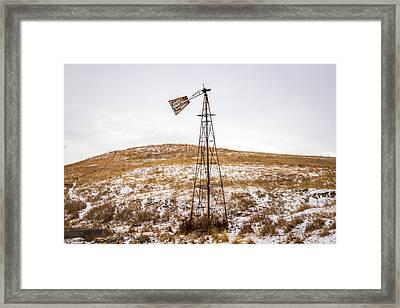 Challenge Windmill 1 Framed Print