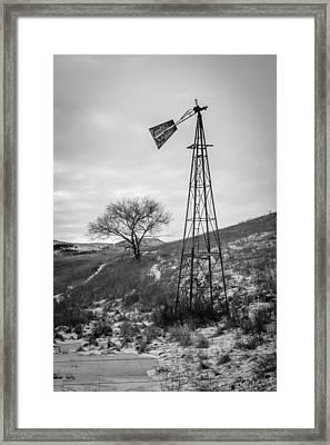 Challenge Windmill 4 Framed Print