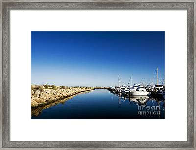 Framed Print featuring the photograph Challenger Harbour Of Fremantle by Yew Kwang