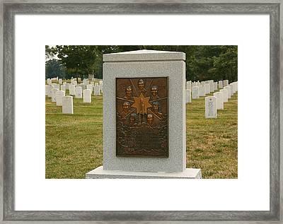 Challenger Space Shuttle Memorial Framed Print