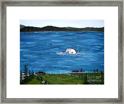 Challenges Framed Print by Barbara Griffin