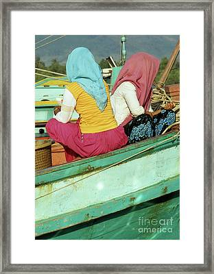 Cham Women Framed Print