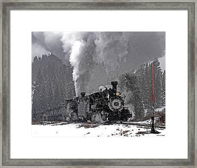Chama Pass 01 Framed Print