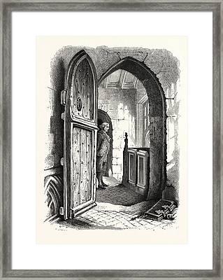 Chamber In Warwick Church, Uk, Britain, British Framed Print