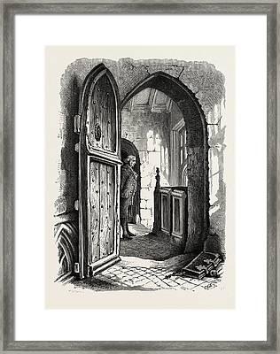 Chamber In Warwick Church, Uk Framed Print