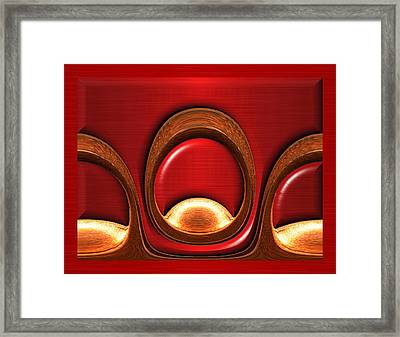 Chamber Trio Framed Print by Wendy J St Christopher