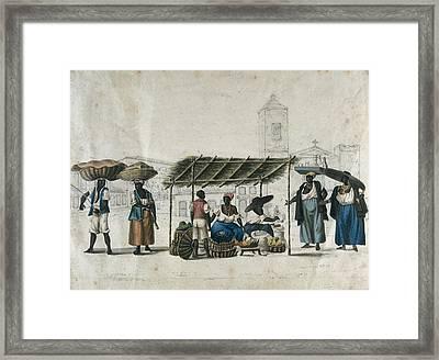 Chamberlain, Henry 1796-1844. Fruit Framed Print by Everett