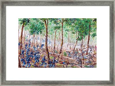 Chamberlains Charge Framed Print by Philip Lee