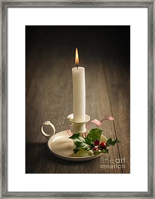 Chamberstick Framed Print by Amanda Elwell