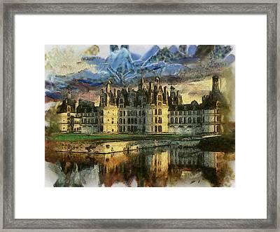 Chambord Castle Framed Print by Georgi Dimitrov