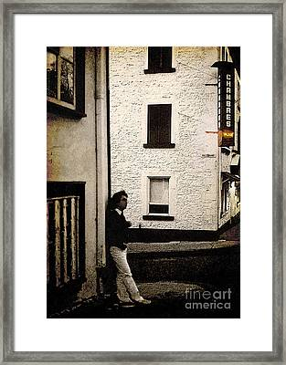 Chambres Vacant Framed Print by Ellen Cotton