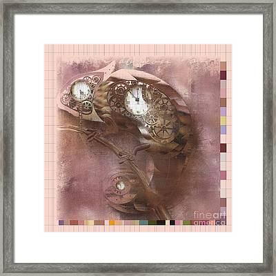 Chameleon - J085076033-sp11 Framed Print by Variance Collections