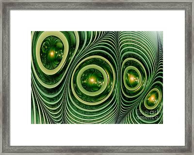 Chameleons Skin Framed Print by Martin Capek