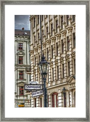Chamissoplatz Framed Print by Nathan Wright