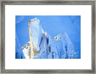 Chamonix Aiguille Du Midi, French Alps Framed Print by Adam Sylvester