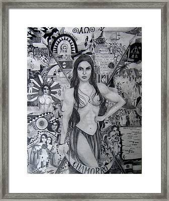 Chamorro Chronology Framed Print