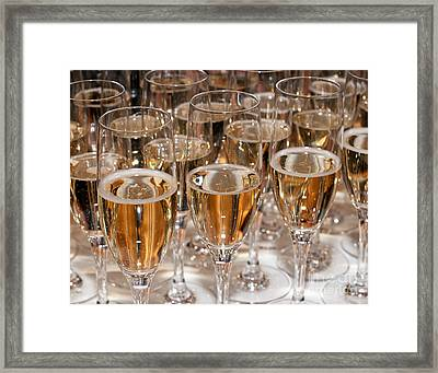 Champagne 01 Framed Print by Rick Piper Photography