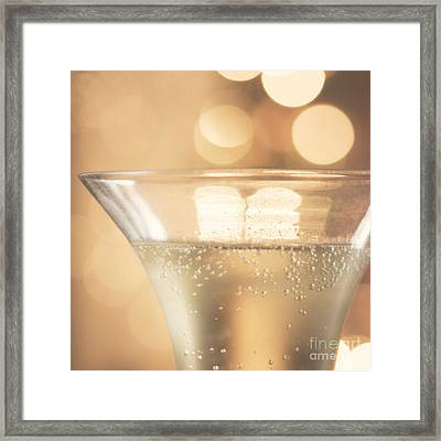 Champagne Celebration Framed Print by Kim Fearheiley