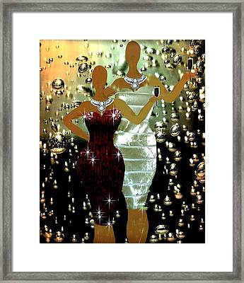 Champagnelyfe Framed Print