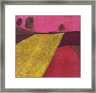 Champetre Framed Print by Mirko Gallery