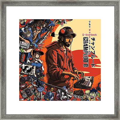 Champloo'd Framed Print by Tuan HollaBack