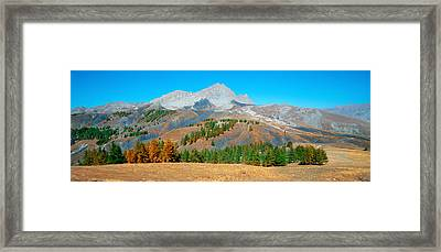 Champs Pass In Autumn, French Riviera Framed Print by Panoramic Images